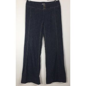 Free People Wide Leg Bell Bottom Flare Jeans
